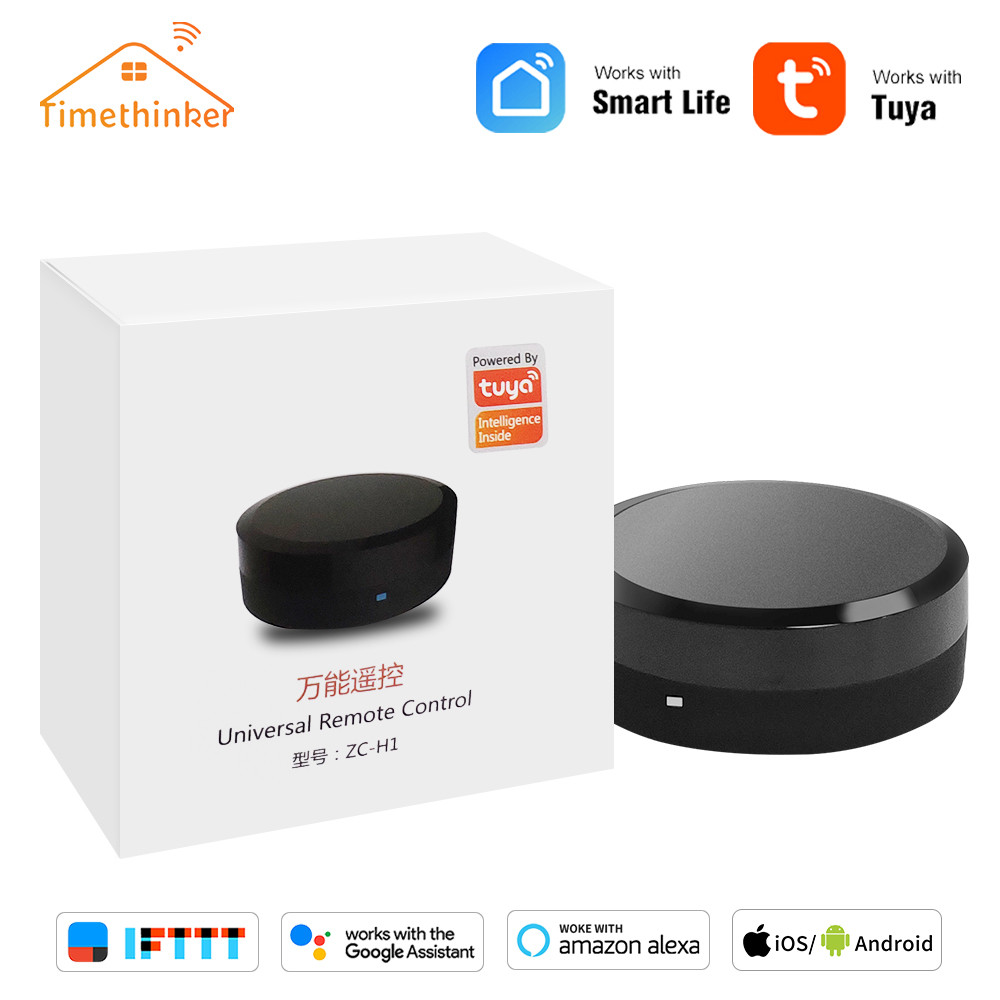 Timethinker Tuya <font><b>Smart</b></font> IR <font><b>Hub</b></font> Remote Control Voice Control for Air Conditioner TV Work With Alexa Google Home for Samsung IOS image