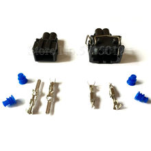 2 Lubang 357 972 762 / 357 972 752 Mobil Tahan Air Wiring Harness Konektor Auto Plug(China)