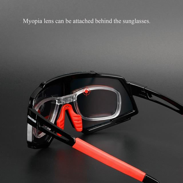 Comaxsun profissional polarizado 5 len ciclismo óculos mtb bicicleta de estrada do esporte espelho óculos de sol da bicicleta uv400 6