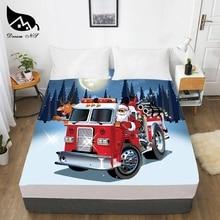Home-Textile-Sheets Personal Bedroom Bettlaken Print 3D NS Dream 1PCS Dress-Up Christmas