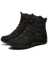 XIANG GUAN  Winter Men Hiking Shoes Women Outdoor Camping Tactical Boots Waterproof Climbing Mountain Hunting Trekking Sneakers