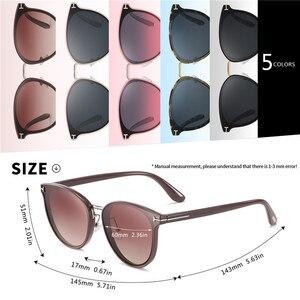 Image 4 - Мужские солнцезащ. Очки в круглой оправе AOFLY, черно золотистые солнцезащитные очки в круглой оправе с поляризованными линзами, пригодными для вождения, лето 2019