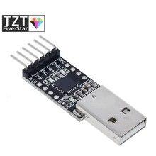 Cp2102 usb 2.0 para ttl uart módulo 6pin conversor serial stc substituir ft232