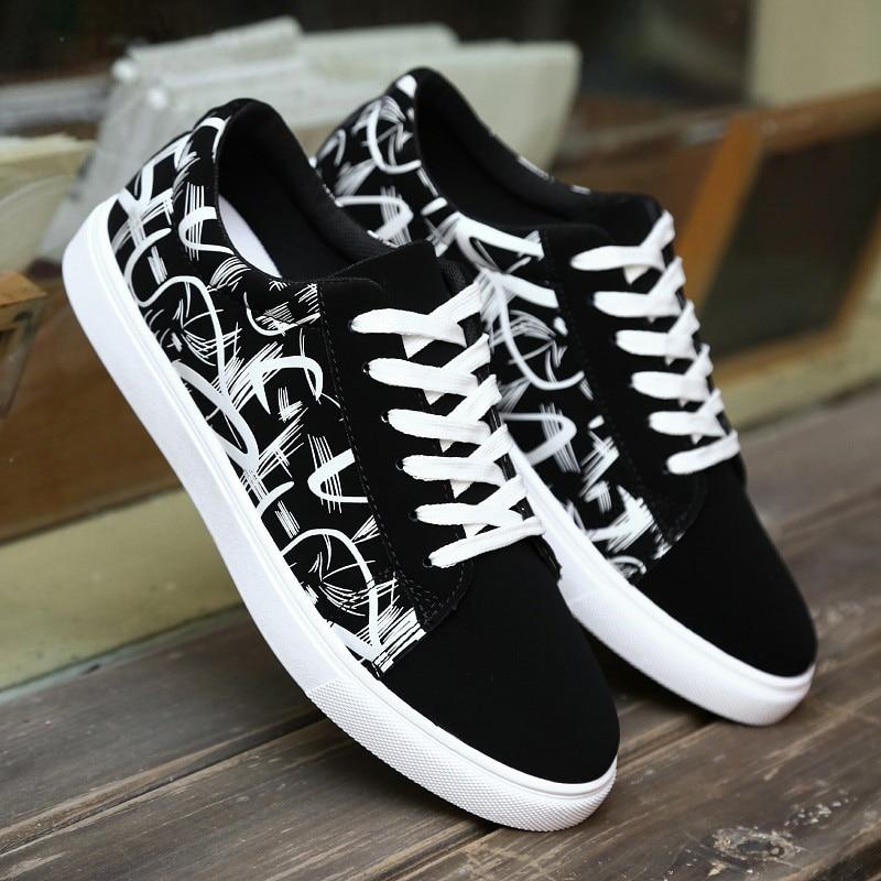 Men Sneakers Spring Men Casual Shoes Trend Men Canvas Shoes Trainers Male Shoes Adult True Sneakers Men Vulcanize Shoes Footwear