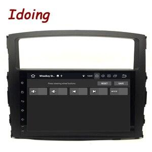 """Image 5 - Ido 9 """"أندرويد 9.0 سيارة لتحديد المواقع لاعب لميتسوبيشي باجيرو V97 V93 2006 2011 مع 8Core 4GB + 32G راديو تلقائي الوسائط المتعددة نافي"""