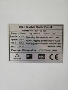 Image 4 - الصين أحادية الخلايا الشمسية عالية الكفاءة 100 واط سعر المصنع تصاعد ألواح الطاقة الشمسية المصنوعة من خلية فولطا ضوئية للبيع 12 فولت شاحن بالطاقة الشمسية 200 واط 300 واط 400 واط