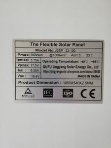 Image 4 - Chiny mono ogniwo słoneczne o wysokiej wydajności 100w producent cena montaż panel fotowoltaiczny na sprzedaż 12v ładowarka solarna 200w 300w 400w