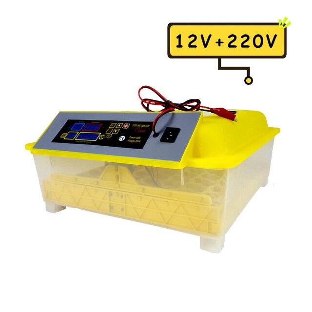 48 Egg Incubator Fully Automatic 12V - 220V Large Capacity  2