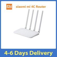 Xiaomi Mi Router WIFI 4C 64 RAM 802.11 b/g/n 2.4G 300 mb/s 4 anteny inteligentny zespół sterowania APP routery bezprzewodowe Repeater