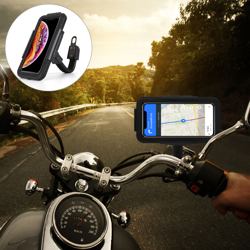 Bicycle Motorcycle Phone Holder Waterproof Motor Bike Riding Phone Case Bag For IPhone 11 Pro Xs Max Xr X 7 Plus Xiaomi Samsung