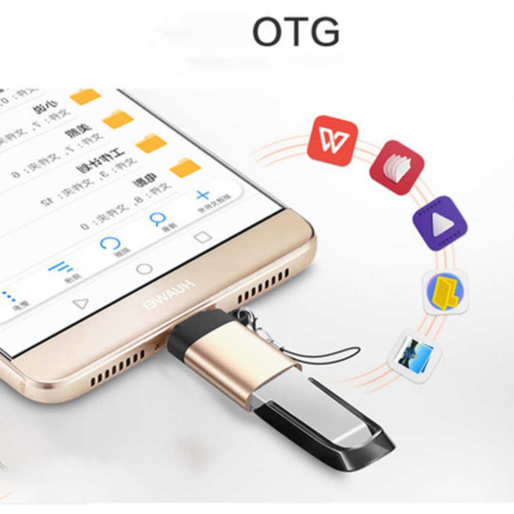 USB Cประเภทอะแดปเตอร์CถึงUSB 3.0 Adapter Type-Cอะแดปเตอร์OTGสำหรับMacbook Pro Air Samsung s10 S9 S8 Huawei P30 USBC OTG Cable