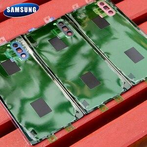 Image 4 - Original Samsung Battery Glass Back Cover for Samsung Galaxy Note 10 Note10+ Note10 Note 10 Plus Rear Housing Back Phone Case