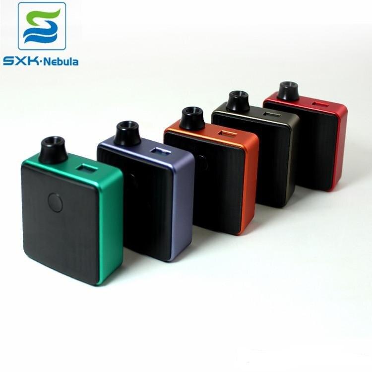 D'origine SXK Bantam boîte BB Mod Kit de démarrage Fit 18350 batterie avec 5ml Ego AIO MTL RTA atomiseur E Cigarette Pod système Vaper Vape