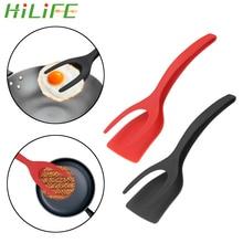 HILIFE Frying Egg Spatula Non-Stick Fried Egg Turners Utensils Pizza Steak Flip Shovel