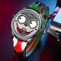 Часы Джокер для мужчин Топ бренд класса люкс Модные персональные Сплав Кварцевые часы для мужчин s Ограниченная серия дизайнерские часы нов...