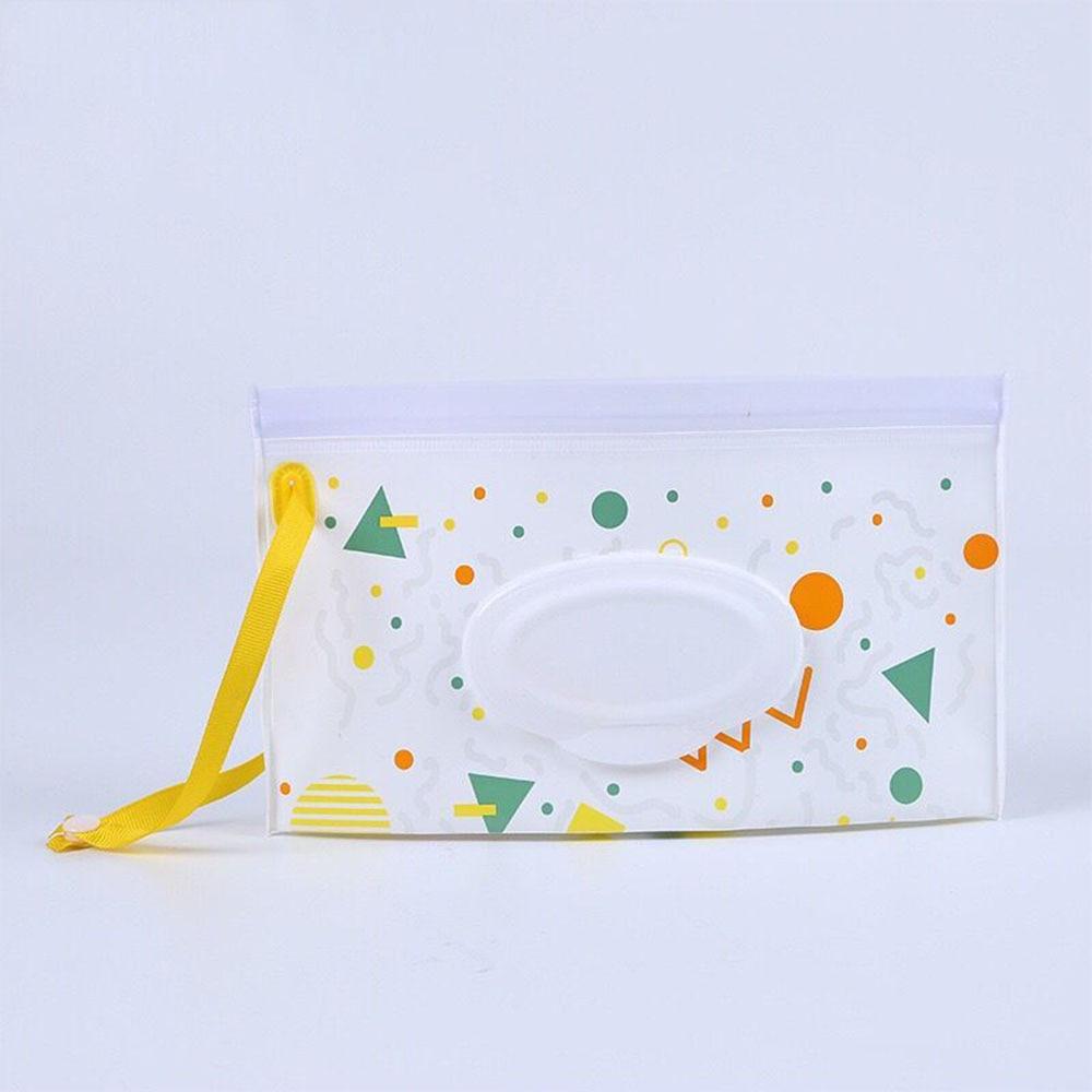 Уход за ребенком, влажная коробка для салфеток, чистящие салфетки, контейнер, чехол, раскладушка, ремешок, экологически чистый, удобный для переноски, коробка для салфеток, чехол для влажных салфеток Tussue - Цвет: Large