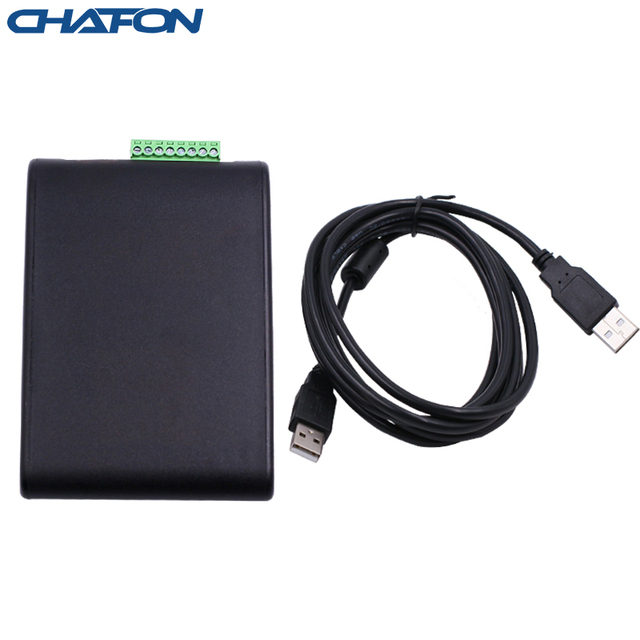 Chafon 1M Uhf Desktop Kaartlezer Emuleren Toetsenbord Versie Geen Driver Voor Toegangscontrole