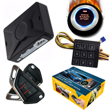 Alarm-System Start Stop Cardot Intelligent Smart-Car Keyless Lock Entry-Central Russian