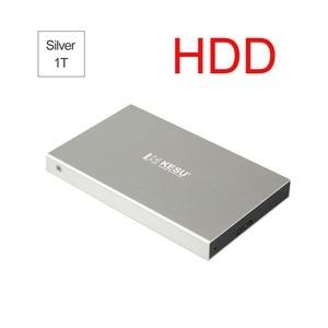 KESU Elements HDD Hard Disk USB 3.0 External Hard Drive 120G/160G/250G/320G/500G/1T/2T Portable HDD External HD for PC