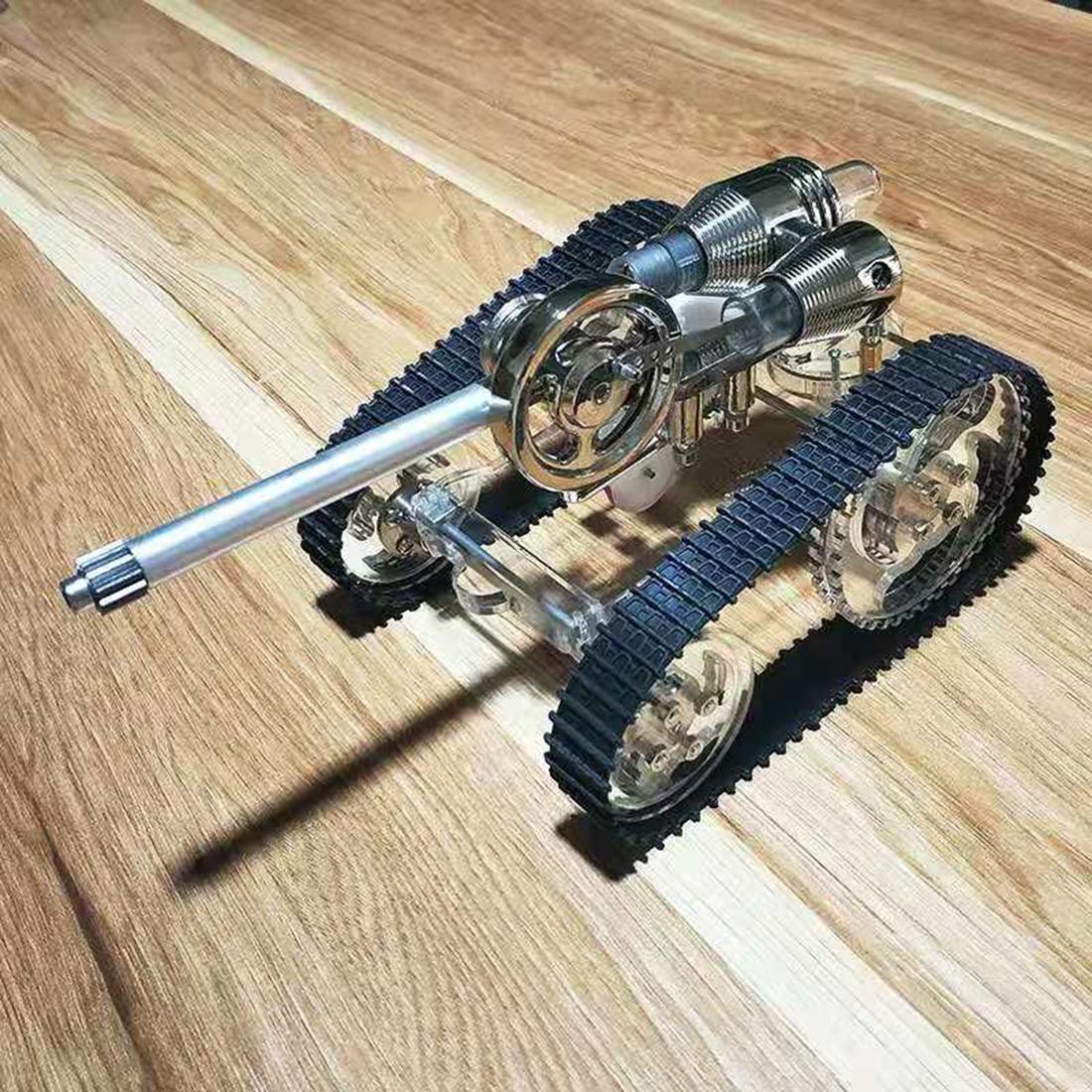 Tank Stirling Engine Model External Combustion Engine Science Educational Kits