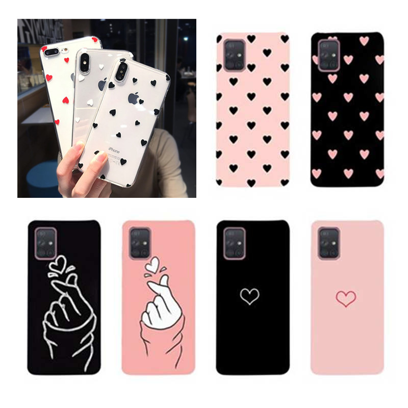 Silicone Case For Samsung Galaxy S20 Case 2020 Soft TPU Cartoon Phone Case Coque For Samsung S 20 Plus Ultra A71 A51 Phone Cases