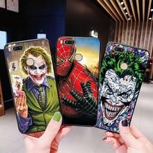 For Xiaomi Mi A1 Mi A2 Case Cover Marvel Avengers Captain Black TPU Phone Case For Xiaomi Mi8 SE Mi9 SE Mi 9T Pro Mi5X Mi6X F1