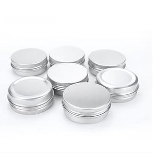 Image 5 - 100pcs x 5g 10g 15g אלומיניום עגול שפתון פח מכולות עם בורג מכסה חוט נהדר עבור תבלינים, סוכריות, תה או הענקת מתנות