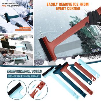 Łopata do śniegu regulowana teleskopowa pióro wycieraczki samochodowa łopata do śniegu usuwanie śniegu narzędzie okno urządzenia do oczyszczania naprawa samochodów części tanie i dobre opinie CN (pochodzenie) 5 0cm 34 0cm 100g 13 0cm