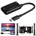Тип-c HDMI конвертер Кабель USB3.1 MHL адаптер для Android телефонов планшетов QJY99