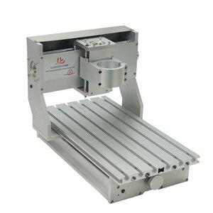 Image 5 - Mini DIY CNC makinesi CNC 3020 çerçeve sondaj ve freze makinesi hobi amaçlı 65mm mil Motor olmadan