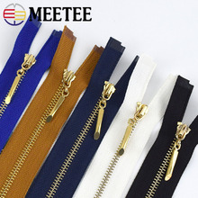 2pcs/5pcs Metal Zipper 3# 40cm Open End Zip for Sew Bags Purse Down Jacket Skirt Clothing Sewing Accessory ZA048 Tailor Zipper