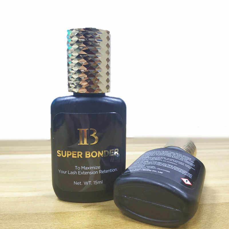 15ml IB SUPER BONDER środek utrwalający do przedłużania rzęs podkład utwardzający klej klejenie rzęs przezroczysty płyn utwardzający