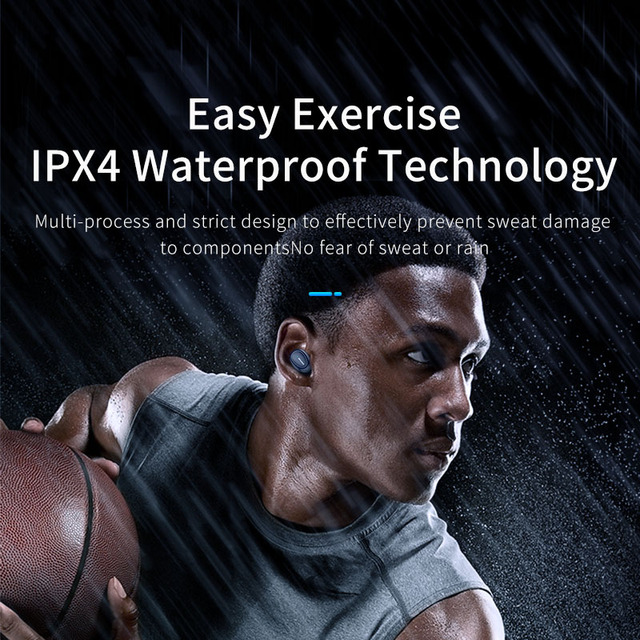 AWEI TWS T16 Earphone With Bluetooth 5.0 Headset Earphone 4