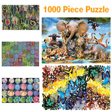 Bohemian Puzzle 1000 Pieces Adult Kids Intellectual Game Learning Education Toys Kids Jigsaw Puzzle