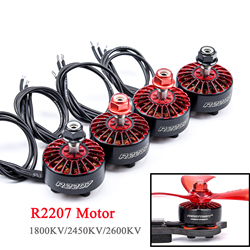 4 шт./лот R2207 2207 1800KV 2450KV 2600KV бесщеточный двигатель CW / CCW Для RC FPV Racing Drone Quadcopter Frame