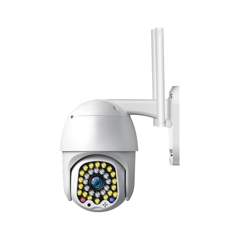 Jiange 1080P Wifi Ip Camera With Night Vision And Auto Tracking Ycc365plus APP Alarm Push To Recurity Your Home