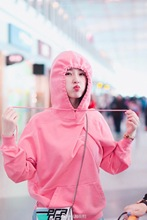 Star Same Pink Letter Embroidered Hooded Guard 2019 Spring Loose Casual Coat Women Pullovers Full Fashion Women Sweatshirt недорого