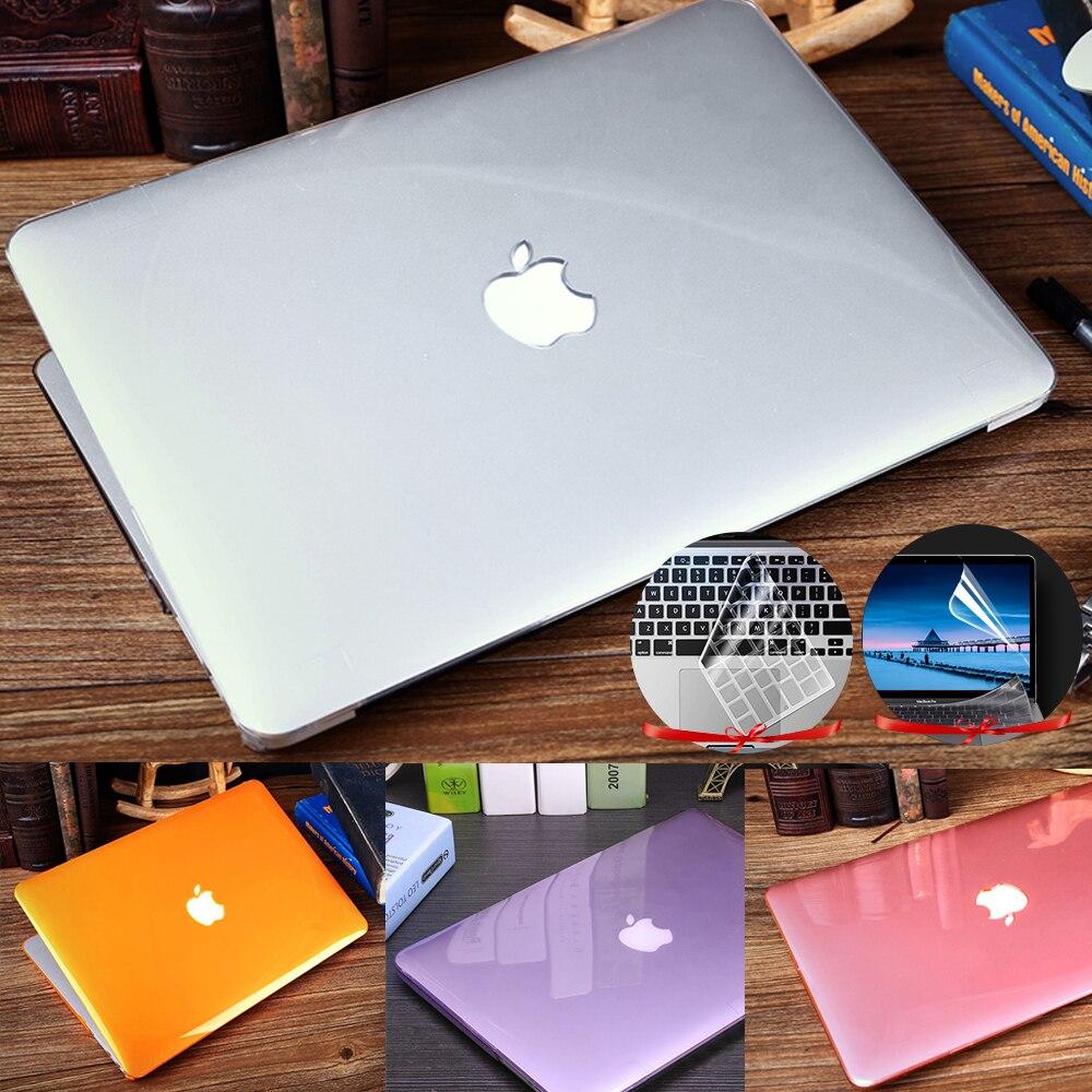Чехол для Apple Macbook Air 13, футляр M1 Chip A2337 A2179 A1932 Touch Bar Pro 16 11 12 15, новый Pro 13, прозрачный чехол A2338 A2289