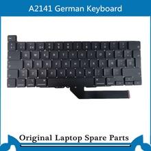 Original New  For Macbook Pro Retina A2141 Keyboard German Version  KB  16 Inch