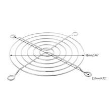 Вентилятор защита сетка решетка 9 см диаметр железо сетка безопасность сетка для компьютера чехол вентиляторы