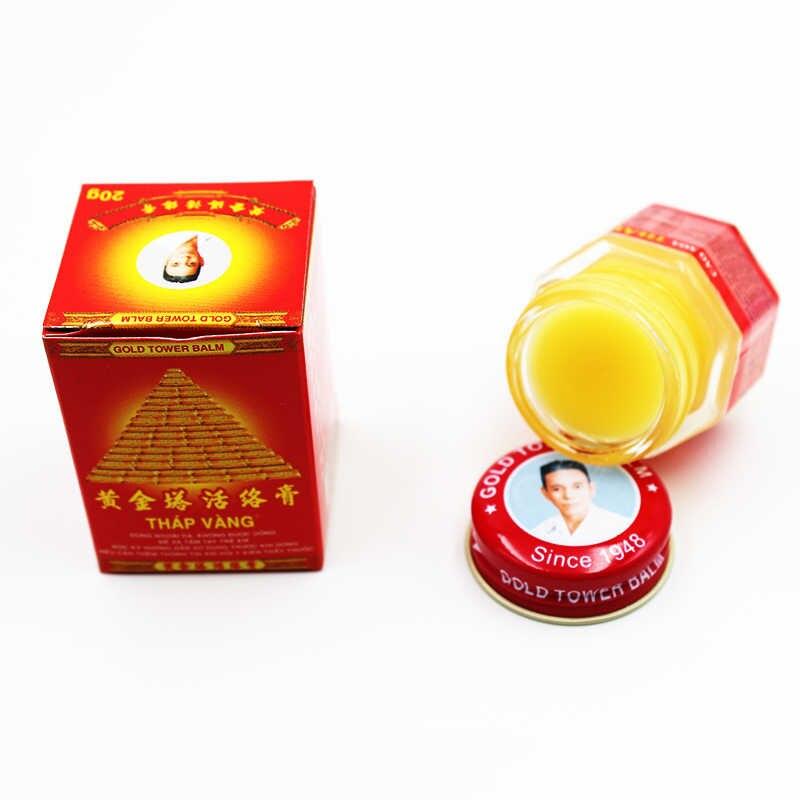 Nieuwe 2019 Pijn Crème Vietnam Gold Toren Balsem 20G Verlichten Jeuk Spier Gewrichten Reuma Detumescence Zalf Actieve Crème