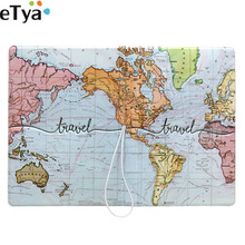 Bag Organizers-Accessories Wallet Travel-Packing Passport-Cover Pouch Etya Credit Pu