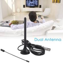 50 miles HD TV Antenna HDTV 25DB Indoor Digital Antenna Aerial Booster for DVB-T Antenna TV HD DVB-T2 radio TV Aerial(China)