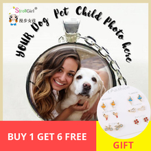 SG 925 Sterling Silver Photo Necklace Personalized Custom Pet pendant For Your favorite Customize Best Gift New.
