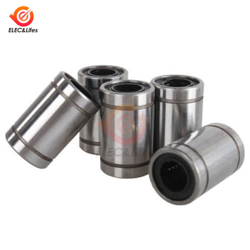 1Pcs LM8UU Linear Bushing 8mm CNC Linear Bearings for Rods Liner Rail Linear Shaft 3D printer parts
