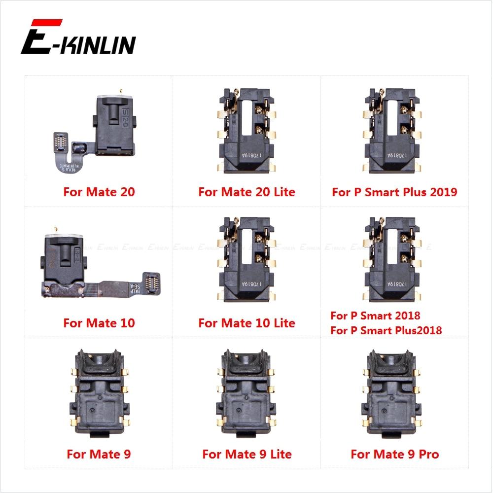 Ear Earphone Port Connector Headphone Jack Audio Flex For HuaWei Mate 20 10 9 Lite Pro P Smart Plus 2019 2018 Repair Parts