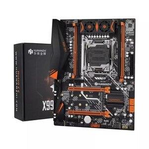 Image 2 - HUANANZHI X99 kit combinato scheda madre XEON E5 2620 V3 2*8G DDR4 2666 NON ECC memoria NVME USB3.0 ATX