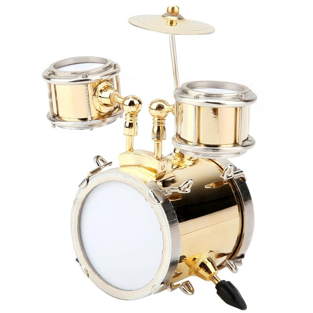 Miniature Instrument de musique tambours décorations salon maison décorateurs Collection-ABUX