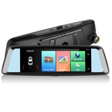 Mirror DVR 4G Dual Dash Camera Mirror Dash cam car monitor 7 inch HD 1080P rearview mirror camera ADAS dvr