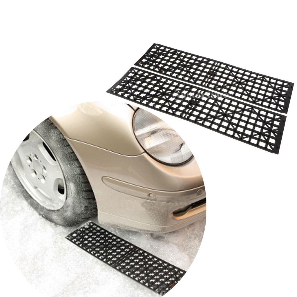 2pcs Car Wheel Anti Skid Pad Auto Traction Mat Tire Grip Aid for Emergencies and Road Trip|Tire Accessories| |  - title=